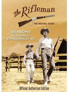 The Rifleman: Season 1 Volume 2 (Episodes 21 - 40) [New DVD] Boxed Set