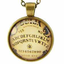 Ouija Board Necklace Pendant Retro Horror Rockabilly Punk Kitsch Gothic Spirit