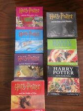 Harry Potter AUDIOBOOK CDS read by Stephen Fry (HARD TO FIND)