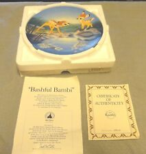 KNOWLES DISNEY BAMBI COLLECTOR PLATE