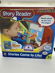 2004 Story Reader Interactive Learning System Includes Disney Finding Nemo NIP!