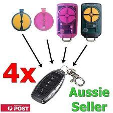 4 x ATA PTX5 PTX-5 v1 TrioCode/Tricode GDO Gate/Garage Door Remote Control