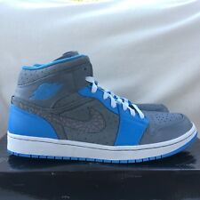 Nike Air Jordan 1 Phat Cool Gris/Université Bleu Baskets Pointure 11 homme