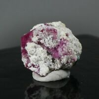 4.60ct Bixbite Red Beryl Crystal Gem Mineral Emerald Wah Wah Utah Floater 36A