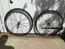 BONTRAGER RACE LITE BLADED PAIRED 700C CLINCHER 8 9 10 SPEED WHEEL SET