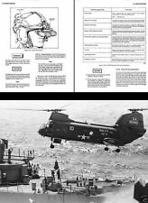 CH-46 Sea Knight Archive Manual 1980's historical Vertol Helicopter detail