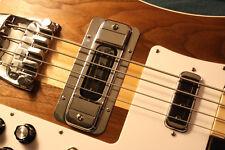 Rickenbacker 4003 Bass aftermarket Treble Bezel STANDARD Smooth Chrome
