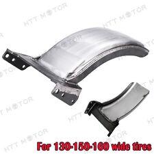 """Heavy Duty Steel 7-1/2"""" Wide Custom Rear Fender for Harley Softail 130-150-160"""