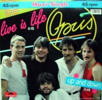 """Opus Live is life (1984) [Maxi 12""""]"""