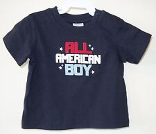 Brand New Gymboree All American Boy Shirt Boy's  3-6 Month ~ July 4th