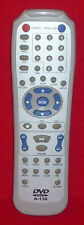 ORIGINAL GENUINE DVD VIDEO REMOTE CONTROL D-138