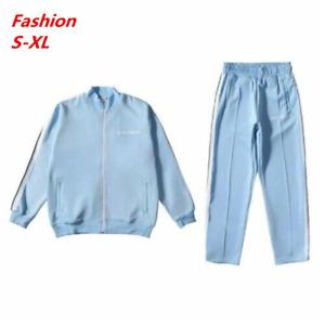 Damen Palm Angels Trainingsanzug Jacke Hose Herren Jacke Dünner Hosenanzug S-XL