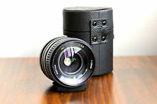 PHOTAX  (for Canon FD)  MC 28mm f/2.8 Lens  w/ Case   - Made in Japan     FL/@@