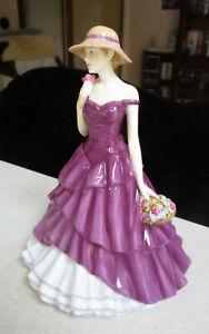 "Lovely ROYAL DOULTON Figurine  "" Megan ""   18cm / 7"" High   Excellent Condition"