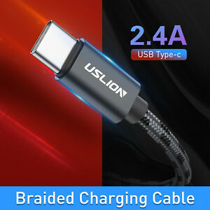 Type-C Cable Fast Charger Cable Data for Samsung A20 Huawei Y6 Y9 2019 Micro USB