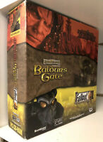 Planescape Torment + Baldur's Gate + Fallout 2 - IBM PC Rare Big Box - RPG Pack