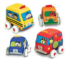 Melissa and Doug K's Kids Pull-Back Vehicles Baby and Toddler Toy 9168