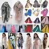 Fashion Womens Chiffon Voile Soft Scarf Wrap Long Shawl Stole Silk Scarves Boho