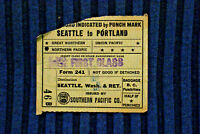 Southern Pacific - Seattle to Portland - May 6, 1946