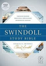 The Swindoll Study Bible NLT (2017, Hardcover)..9781414387253