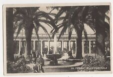 Italy, Foggia, Villa Comunale RP Postcard, A954