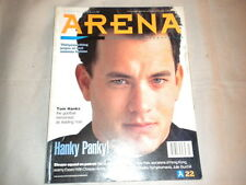 Arena Magazine Issue 22 July / Aug 1990 - Tom Hanks - sleaze squad on patrol