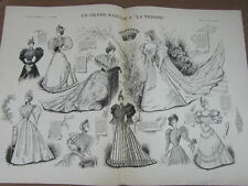 L' ART ET LA MODE - 1893 - No 21 - ILLUSTREE - UN GRAND MARIAGE A LA TRINITE
