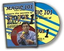 MAGIC 101, SPONGE BALLS - DVD