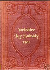 Genealogy - Yorkshire Lay Subsidy Returns 1301