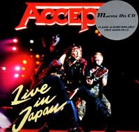 ACCEPT live in japan (sealed CD album) heavy metal