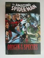 Marvel Comics Spider-Man Origin of The Species Hard Cover  HC