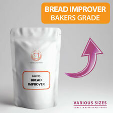 Bread IMPROVER for Bakers  - Flour & Dough IMPROVER Perfect for Home Baking