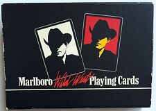 """TWO-DECKS OF 1991 MARLBORO """"WILD WEST"""" PLAYING CARDS ~ BRAND NEW SEALED IN BOX"""