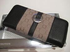 NEW OROTON Essential Multi Pocket Zip (choc) $225 + GIFT BOX