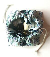 Lotus Bag, Fabric Gift Pouch, Wedding Favor Bag, Travel bag, Jewelry Bag