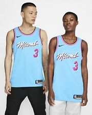 Dwyane Wade Miami Heat Nike 2019/20 City Edition Swingman Jersey - Blue
