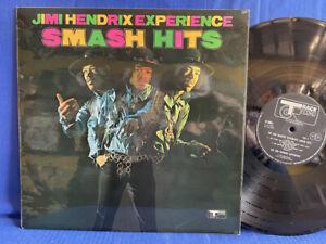 JIMI HENDRIX SMASH HITS TRACK 613004 ORIGINAL UK LP EXC+