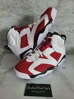 2021 Nike Air Jordan 6 Retro Carmine GS Men's CT8529-106