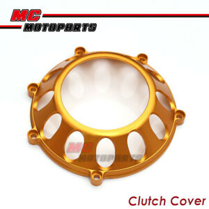CNC Billet Clutch Cover Gold For Ducati Sport 1000 Streetfighter ST4S CC27