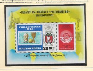 Hungria Exposición Philexfrance 82 Sello sobre sello año 1982 (EB-428)