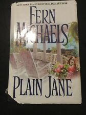 Plain Jane by Fern Michaels (2001, Hardcover)