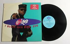 MR. LEE I Wanna Rock Right Now LP Jive Rec 1417-1-J US 1992 VG++ 13D