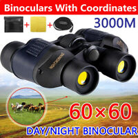 60x60 Zoom Day&Night Vision Binoculars Hunting Camping Telescope Christmas Gift