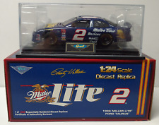 Rusty Wallace #2 Revell Miller Lite 1998 Ford Taurus 1:24 NASCAR ~ Free Shipping
