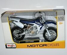 Maisto - YAMAHA YZ450F (Blue/White) - Motorcycle Model Scale 1:12