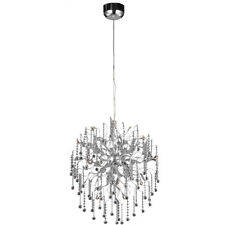 CRYSTAL SPUTNIK ASTEROID CHANDELIER FOYER DINING LIVING ROOM 15 LIGHT 30