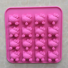 1PC Hello Kitty Silicone Cake Baking Tool Mould Chocolate Fondant Mold Ice Tray
