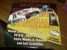 DJ Adam 12-World Wide Originals-LP-Serious Entertainment-Vinyl Record-VG+