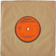 "HUTCH DAVIE ""Sweet Georgia Brown"" 1959 London One-Sided UK Demo Sample 7"" 45 RPM"