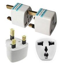 2x New Portable US AU EU  to UK Power Socket Plug Adapter Travels Converter CBUS